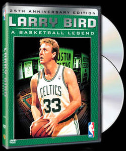 "DVD SET: ""Larry Bird: A Basketball Legend"" 2-Disc Set - LAST ONE LEFT IN STOCK"
