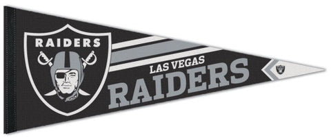 Las Vegas Raiders Logo-Style NFL Football Team Premium Felt Collector's PENNANT - Wincraft