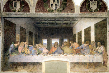 The Last Supper by Leonardo Da Vinci Poster - Pyramid Posters
