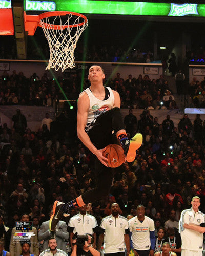 "Zach LaVine ""Space Jam Slam"" (2015) Minnesota Timberwolves Premium Poster Print - Photofile 16x20"