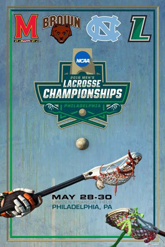 NCAA Lacrosse Championships 2016 Official Event Poster - ProGraphs Inc.