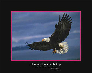"Soaring Eagle ""Leadership"" Motivational Poster - Eurographics 16x20"
