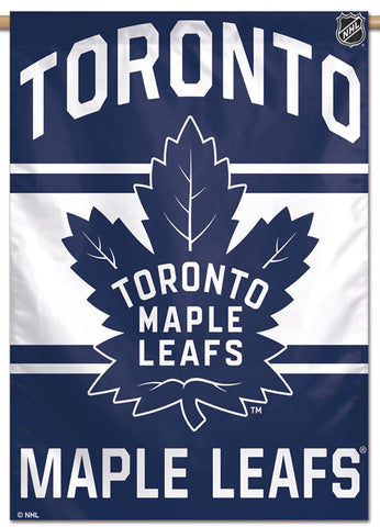 Toronto Maple Leafs Official NHL Hockey Team Premium Wall Banner - Wincraft Inc.
