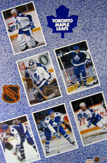 "Toronto Maple Leafs ""Superstars 89-90"" - Starline 1990"
