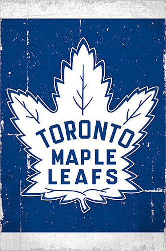 Toronto Maple Leafs Official NHL Hockey Team Logo Poster - Trends International