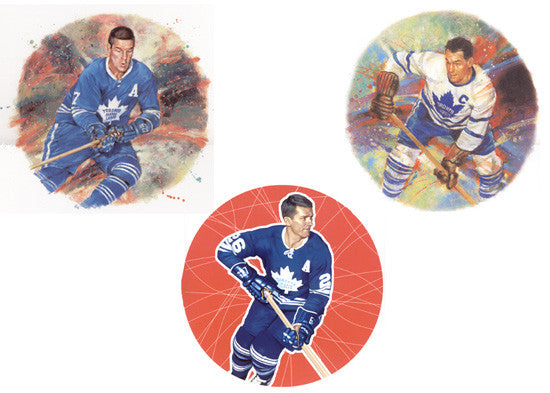 "Toronto Maple Leafs ""Legends"" (3 Classic Art Prints Combo)"