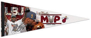 LeBron James 2012 NBA Finals MVP Premium Felt Collector's Pennant - Wincraft