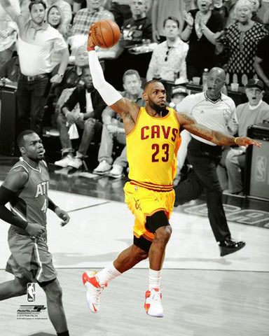 "LeBron James ""Flight 23"" (2016) Cleveland Cavaliers Premium Poster Print - Photofile 16x20"