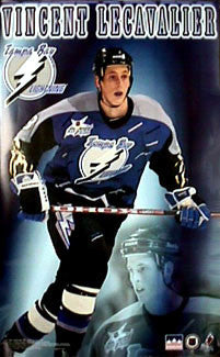 "Vincent Lecavalier ""Action"" Tampa Bay Lightning Poster - Starline Inc. 1999"
