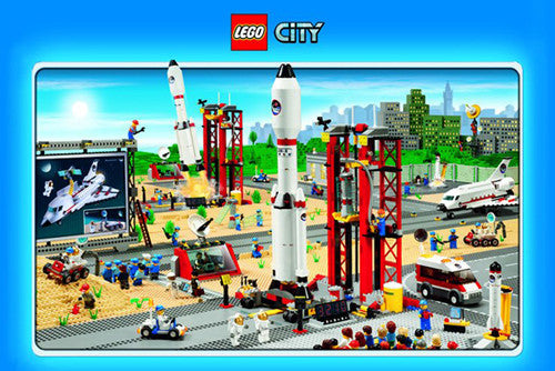 Lego City Space Center Poster - Pyramid International