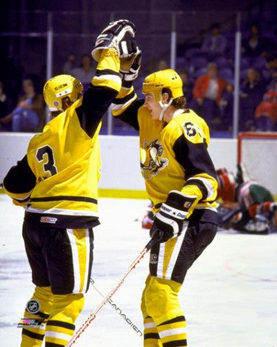"Mario Lemieux ""Golden Boy"" (1984) Pittsburgh Penguins Premium Poster - Photofile Inc."
