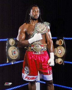 "Lennox Lewis ""Undisputed"" (2000) - Photofile 16x20"