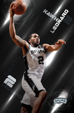 "Kawhi Leonard ""Silver Star"" San Antonio Spurs Official NBA Wall POSTER - Trends Int'l."