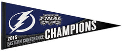 Tampa Bay Lightning 2015 NHL Eastern Conference Champions Premium Felt Pennant - Wincraft