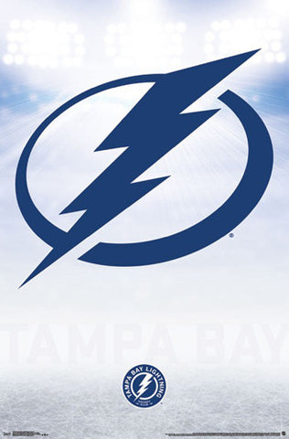 Tampa Bay Lightning Official NHL Hockey Team Logo Poster - Trends International