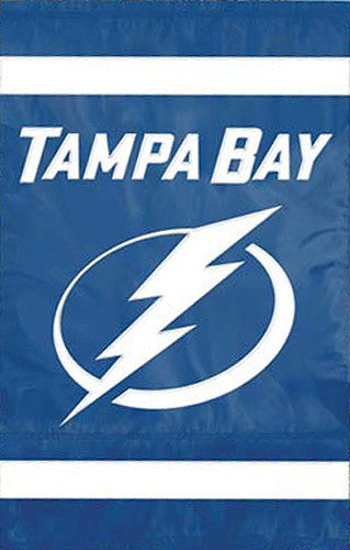 Tampa Bay Lightning Official NHL Hockey Premium Applique Team Banner Flag - Party Animal