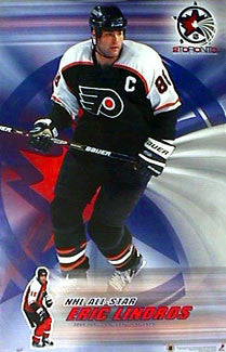 Eric Lindros 2000 NHL All-Star Philadelphia Flyers Poster - T.I.L. 1999