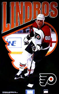 "Eric Lindros ""Infinity"" - Starline Inc. 1993"