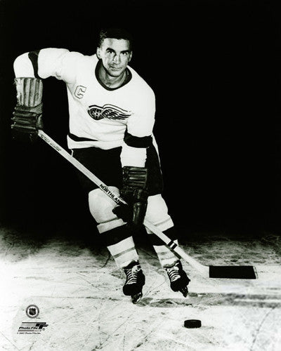"Ted Lindsay ""Red Wings Classic"" (c.1954) Premium Poster Print - Photofile Inc."