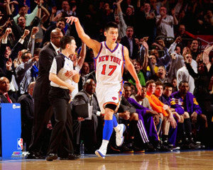 "Jeremy Lin ""Pandemonium"" (2012) New York Knicks Premium Poster Print - Photofile 16x20"