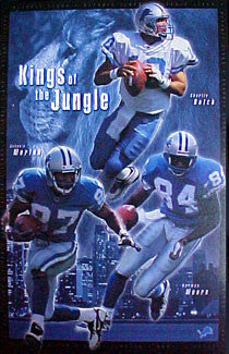 "Detroit Lions ""Kings of the Jungle"" - Costacos 2000"