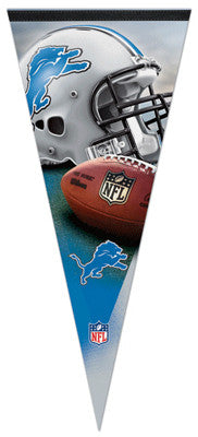 Detroit Lions Official NFL Football EXTRA-LARGE Premium Pennant - Wincraft Inc.