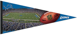 "Detroit Lions ""Gameday"" Ford Field EXTRA-LARGE Premium Pennant - Wincraft Inc."