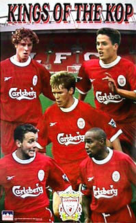 "Liverpool ""Kings of the Kop"" Collage - Starline Inc."