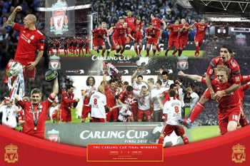 "Liverpool FC ""Carling Cup Winners 2012"" Commemorative - GB Eye (UK)"