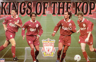 "Liverpool FC ""Kings of the Kop"" (1997) Soccer Poster - Starline Inc."