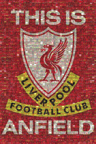 "Liverpool FC ""This is Anfield"" Photomosaic Poster - GB Eye (UK)"