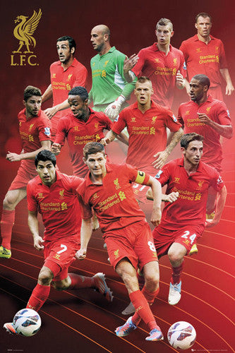 "Liverpool FC ""Super Eleven"" (2012/13) Action Poster - GB Eye (UK)"