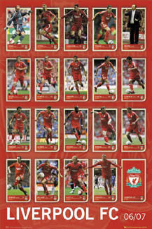 "Liverpool FC ""Super 19"" (2006/07) - GB Posters Inc."
