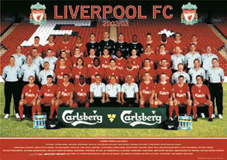 "Liverpool FC ""Team 02/03"" - GB Posters"