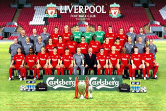 Liverpool FC Official Team Portrait 2006/07 Poster - GB Posters