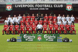 Liverpool FC 2008/09 Official Team Portrait Poster - GB Eye