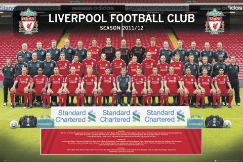 Liverpool FC 2011/12 Official Team Portrait Poster - GB Eye (UK)