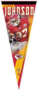 "Larry Johnson ""Signature"" Premium Felt Pennant (LE /2,008) - Wincraft Inc."