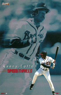 "Kenny Lofton ""Speed Thrills"" - Costacos 1997"