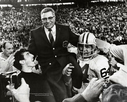 "Vince Lombardi ""Coach Hero"" (Super Bowl II, 1968) Premium Poster Print - Photofile Inc."