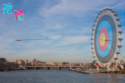 "London 2012 Olympics ""On Target"" Official Poster - Pyramid UK"