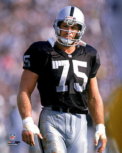 "Howie Long ""Classic"" (c.1988) Los Angeles Raiders Premium Poster Print - Photofile Inc."