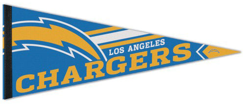 Los Angeles Chargers Football Official NFL Logo-Style Premium Felt Pennant - Wincraft 2020