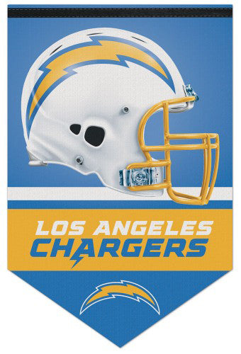 Los Angeles Chargers Official NFL Football Premium Felt Banner - Wincraft Inc.