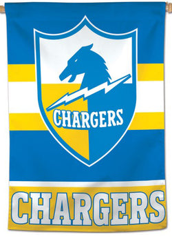 Los Angeles Chargers Classic 1960s AFL-Style Official NFL Football Team Logo Wall BANNER - Wincraft Inc.
