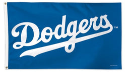 "Los Angeles Dodgers ""Wordmark"" Official MLB Baseball Team DELUXE-EDITION 3'x5' Flag - Wincraft Inc."