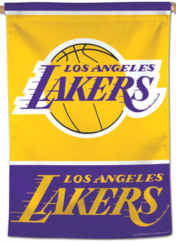 Los Angeles Lakers Official NBA Basketball Premium 28x40 Team Logo Wall Banner - Wincraft Inc.