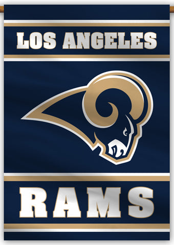 Los Angeles Rams Official NFL Football Premium 28x40 Team Banner - BSI Products
