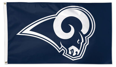 Los Angeles Rams Charging-Ram Logo-Style Giant NFL Football Deluxe 3'x5' FLAG - Wincraft