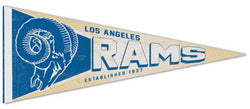 Los Angeles Rams NFL Retro 1950s-Style Premium Felt Collector's Pennant - Wincraft Inc.
